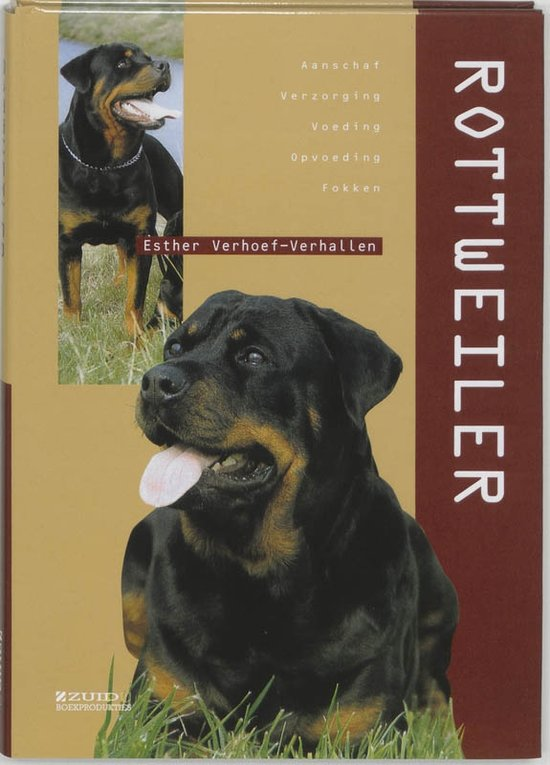 Het boek 'de Rottweiler'