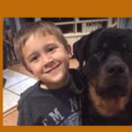 Rottweilers en kinderen: beste vrienden!
