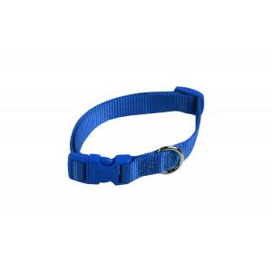 Nylon Halsband Blauw voor honden L